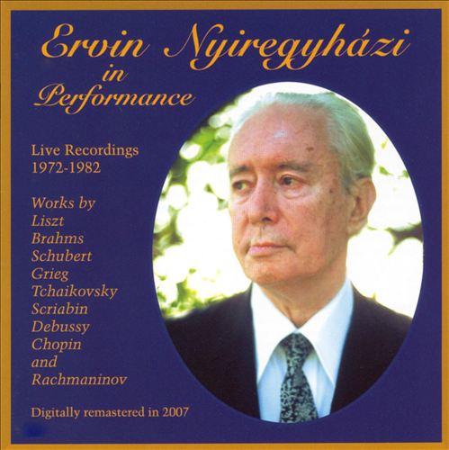 Ervin Nyiregyházi in Performance