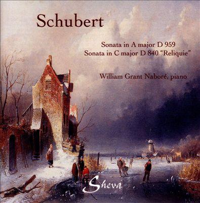 Schubert: Sonatas, D. 959 & D. 840