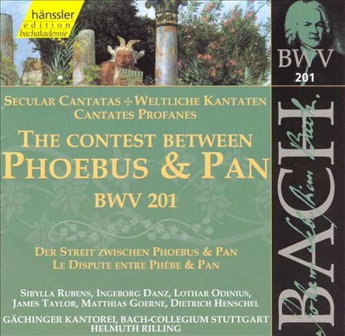 Bach: The Contest Between Phoebus and Pan