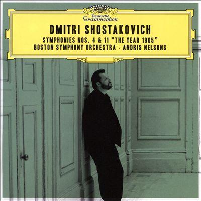 "Dmitri Shostakovich: Symphonies Nos. 4 & 11 ""The Year 1905"""