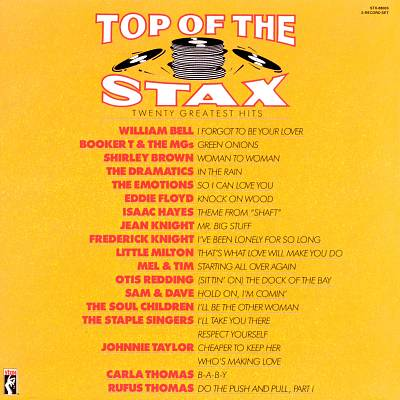 Top of the Stax: Twenty Greatest Hits