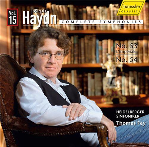 Haydn: Complete Symphonies, Vol. 15