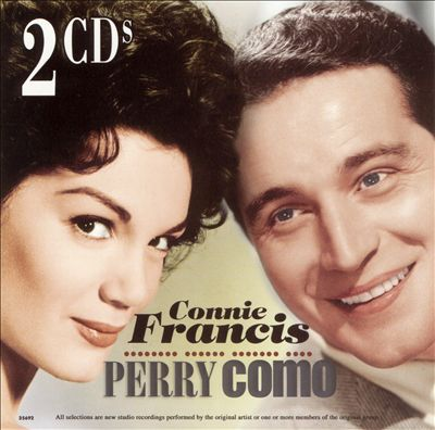 Connie Francis and Perry Como