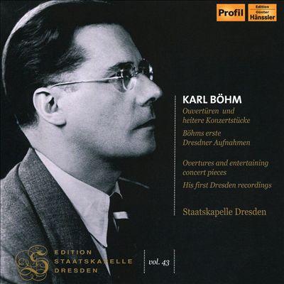 Edition Staatskapelle Dresden, Vol. 43: Karl Böhm