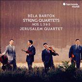 Béla Bartók: String Quartets Nos. 1, 3 & 5