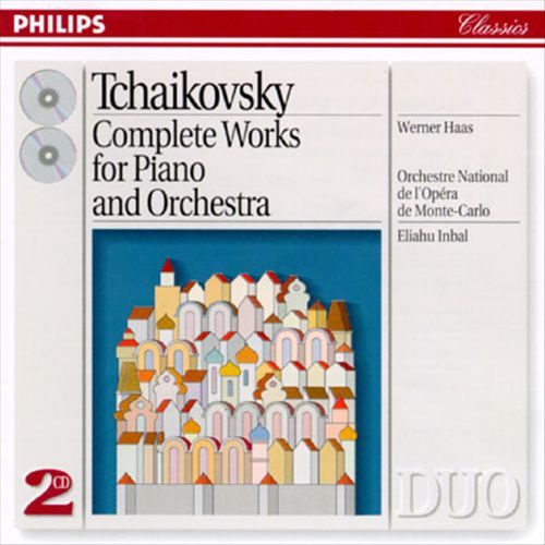 Tchaikovsky: Complete Works for Piano and Orchestra