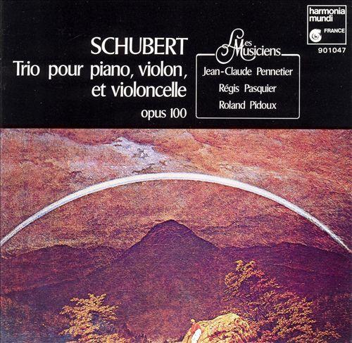 Schubert: Trio pour piano, violon & violoncelle, Op. 100