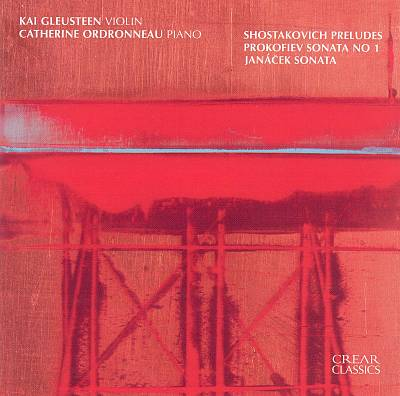 Shostakovich: Preludes; Prokofiev: Sonata No. 1; Janácek: Sonata