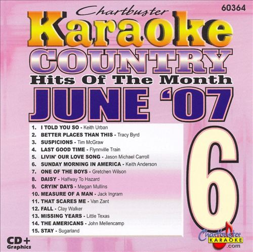 Karaoke: June Country Hits 2007