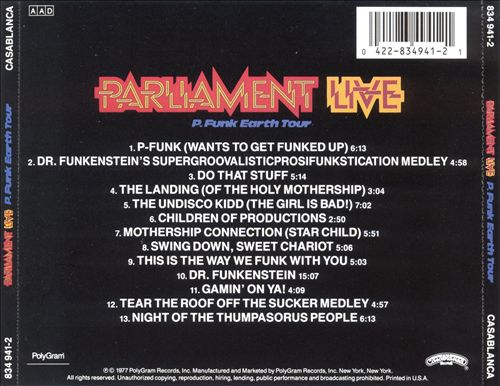 Live: P Funk Earth Tour
