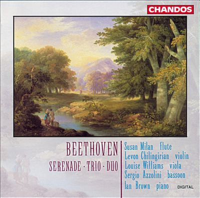 Beethoven: Serenade; Trio; Duo