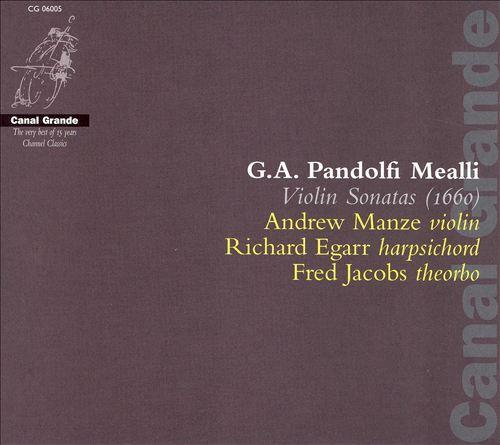 G.A. Pandolfi Mealli: Violin Sonatas