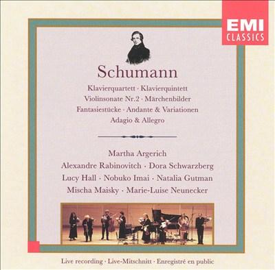 Schumann: Chamber Works
