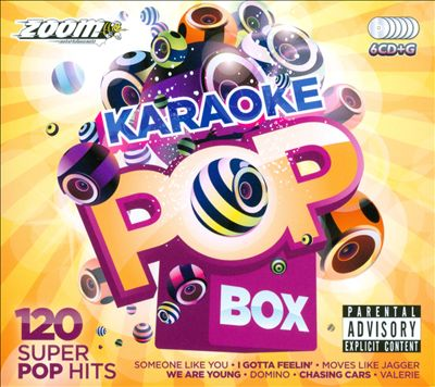 Zoom Karaoke: Pop Box Party Pack