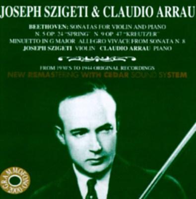 "Beethoven: Sonatas for Violin and Piano No. 5 ""Spring"" & No. 9 ""Kreutzer"""