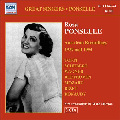 Great Singers, Vol. 6: Ponselle