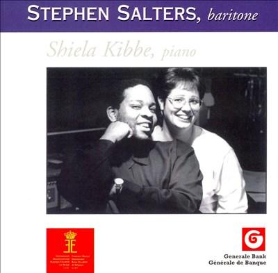 Stephen Salters, Baritone