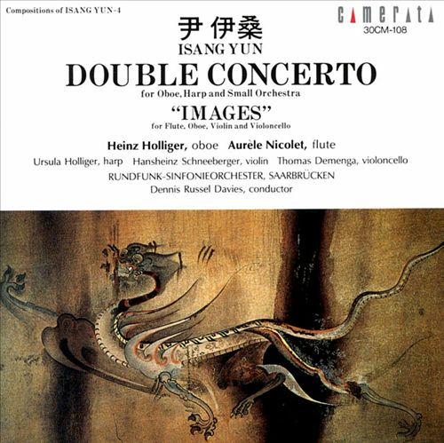 Isang Yun: Double Concerto; Images