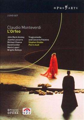 Claudio Monteverdi: L'Orfeo [DVD Video]