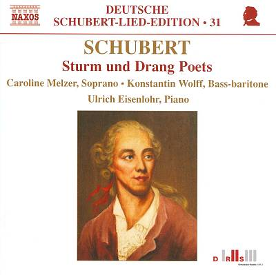 Schubert: Sturm und Drang Poets