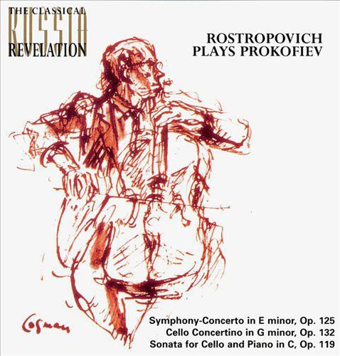 Rostropovich Plays Prokofiev