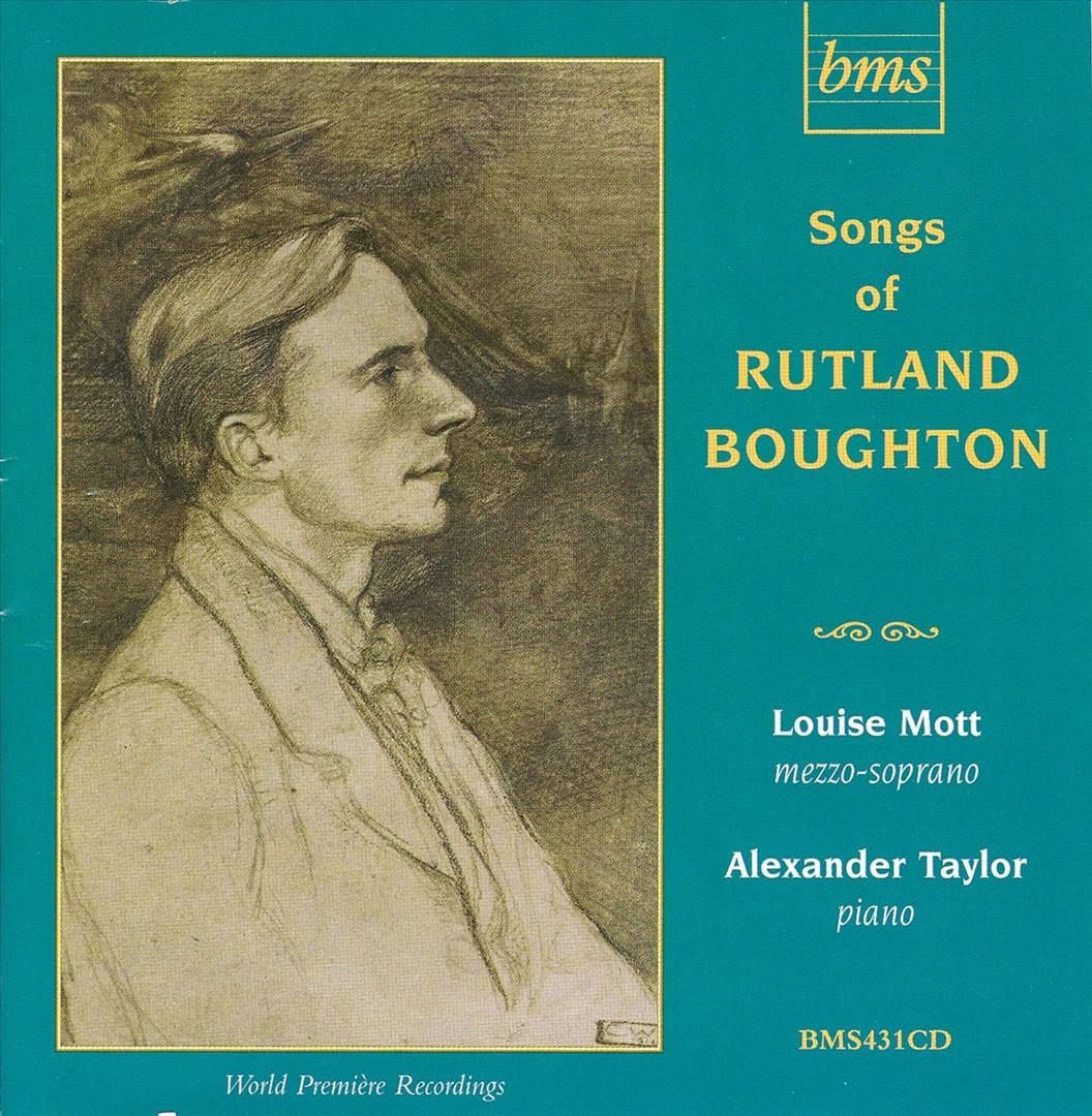 Songs of Rutland Boughton