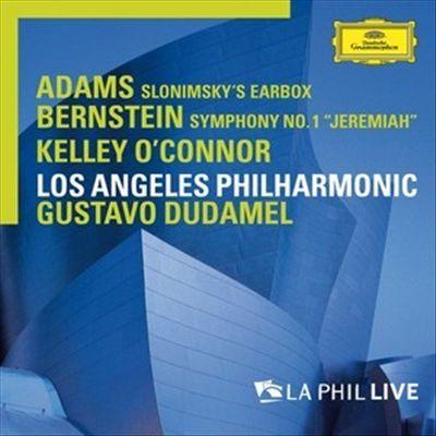 "Adams: Slonimsky's Earbox; Bernstein: Symphony No. 1 ""Jeremiah"""
