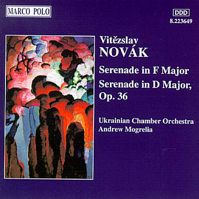 Novak: Serenade in F major; Serenade in D major, Op. 36