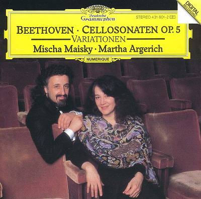 Beethoven: Cellosonaten, Op. 5; Variations