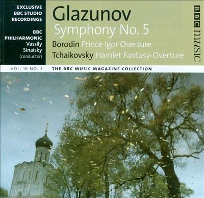 Glazunov: Symphony No. 5