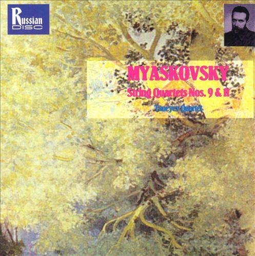 Miaskovsky: String Quartets 9 & 11