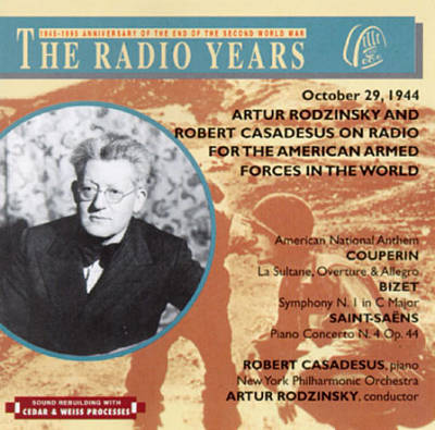 Artur Rodzinsky And Robert Casadeus on Radio for the American Armed Forces in the World, October 29, 1944