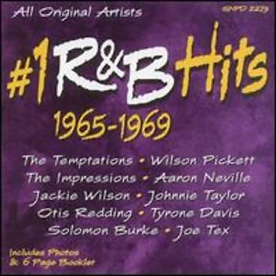 #1 R&B Hits 1965-1969