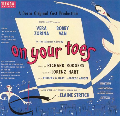 On Your Toes [1954 Broadway Revival Cast]