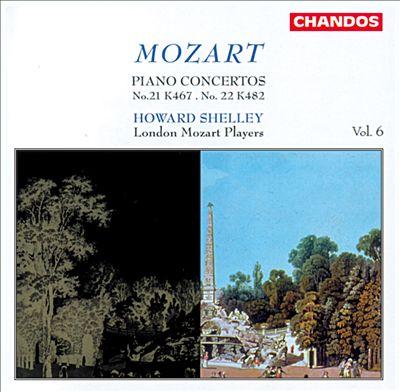 Mozart: Piano Concertos, Vol. 6 - Nos. 21 & 22