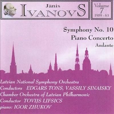 Janis Ivanovs: Orchestral Works, Vol. 7