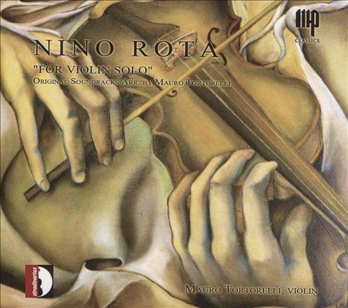 "Nino Rota: ""For Violin Solo"""