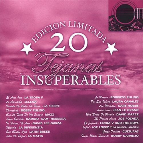 20 Tejanas Insuperables