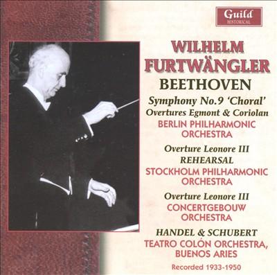 Beethoven: Symphony No. 9; Overtures, etc.