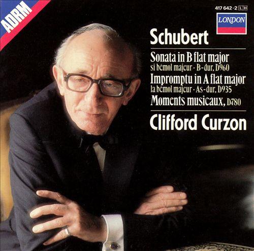Schubert: Sonata in B flat major; Impromptu in A flat major; Moments musicaux