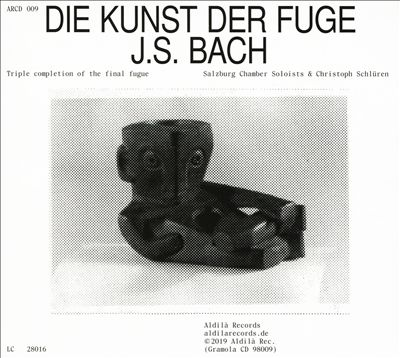 J.S. Bach: Die Kunst der Fuge - Triple completion of the final fugue