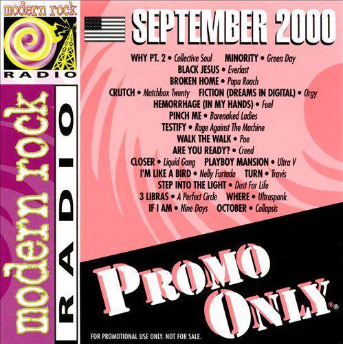 Promo Only: Modern Rock Radio (September 2000)