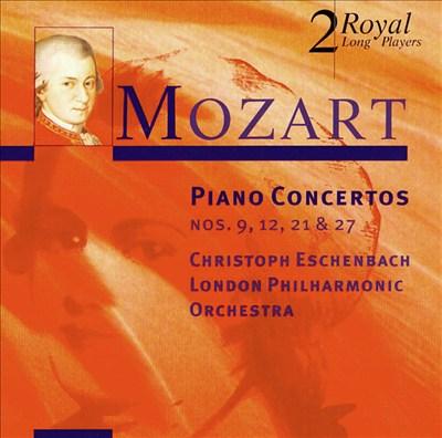 Mozart: Piano Concertos Nos. 9, 12, 21 & 27