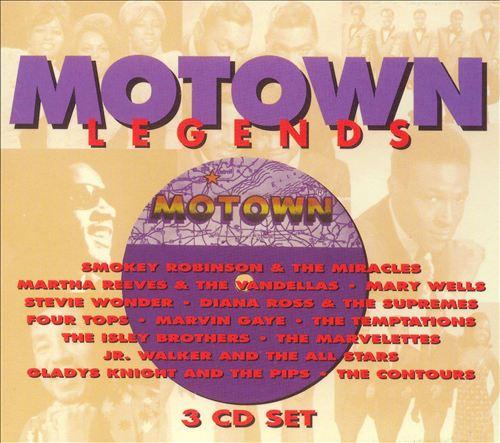 Motown Legends [Transworld Box]