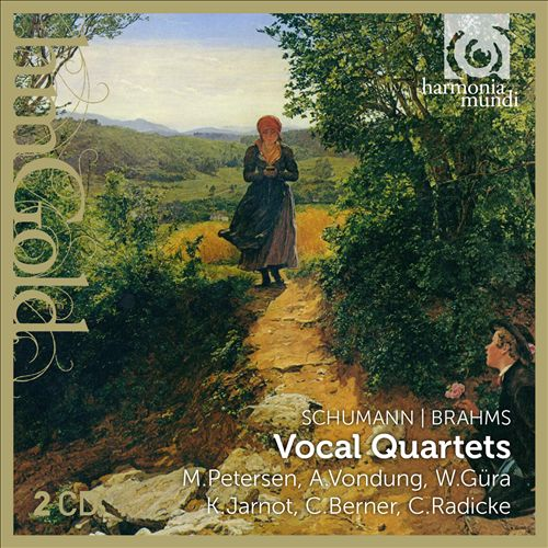 Schuman, Brahms: Vocal Quartets