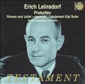 Prokofiev: Romeo and Juliet; Lieutenant Kijé Suite