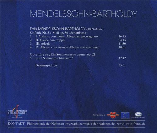 Mendelssohn-Bartholdy: Sinfonie No. 3