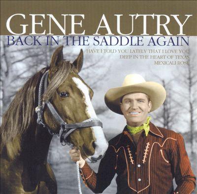Back in the Saddle Again [Dynamic 2005]