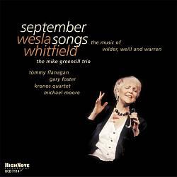 September Songs: The Music of Wilder, Weill and Warren
