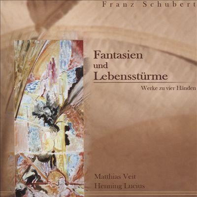 Schubert: Fantasien und Lebensstürme - Werke zu vier Händen